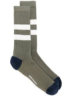полосатые носки в рубчик Norse Projects