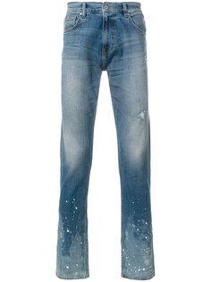 джинсы с потертостями Super Légère