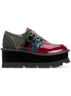туфли с ремешками на платформе Antonio Marras