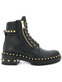 ботинки Army Ranger с заклепками Balmain
