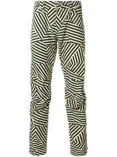 брюки в полоску G-Star