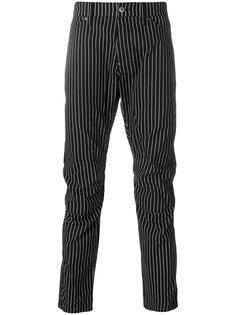 брюки кроя слим в полоску G-Star