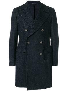 двубортное пальто Tagliatore
