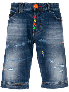 джинсовые шорты Stop Me Philipp Plein