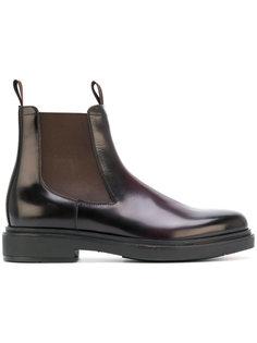 ботинки Челси на утолщенной подошве Santoni
