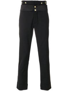 классические брюки кроя слим Pierre Balmain