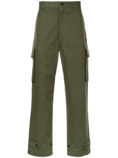 декорированные брюки с карманами по бокам Junya Watanabe Comme Des Garçons Man