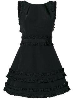 приталенное платье без рукавов Alexis