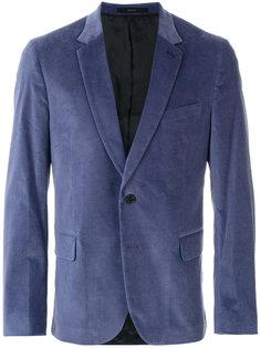 бархатный пиджак кроя слим Paul Smith