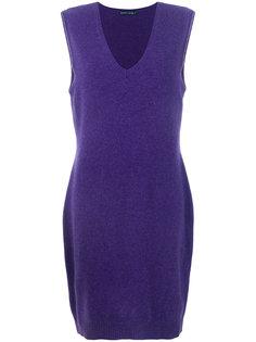 платье-свитер с глубоким вырезом  Ralph Lauren
