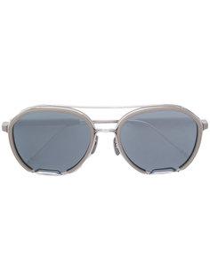 солнцезащитные очки в овальной оправе Thom Browne Eyewear