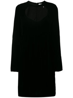 платье с вырезом сердечком  Chloé