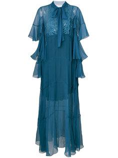 вечернее платье с бантом Chloé