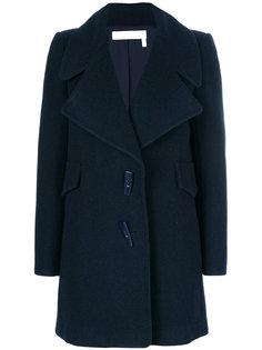 пальто с объемными лацканами See By Chloé
