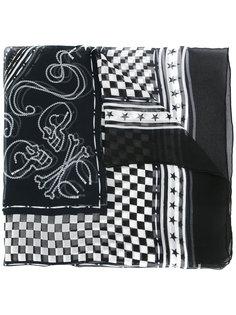 шарф с комбинированным принтом Takahiromiyashita The Soloist