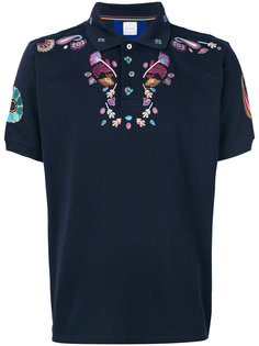 футболка-поло с вышивкой Paul Smith