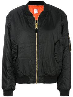 куртка-бомбер с принтом Yang Li