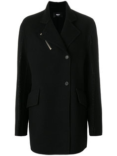 объемное асимметричное пальто Yang Li