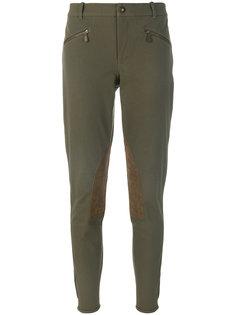 укороченные брюки со вставками  Ralph Lauren