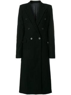 двубортное пальто Juun.J