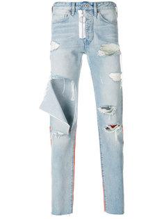 джинсы Off-White x Levis Made & Crafted кроя слим Off-White