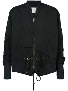 асимметричная куртка-бомбер  Greg Lauren