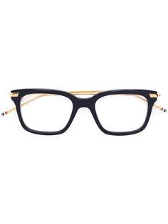 очки в прямоугольной оправе Thom Browne Eyewear
