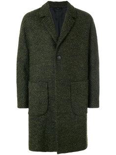 однобортное пальто мешковатого кроя Hevo