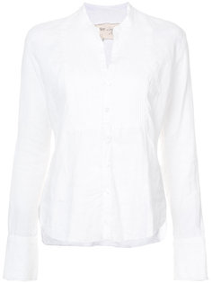 рубашка с плиссированным нагрудником Greg Lauren