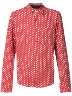рубашка в горошек Amiri
