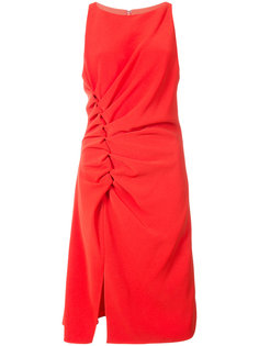 платье с присборенной отделкой Halston Heritage