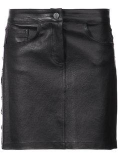 мини юбка с цепочной деталью Amiri