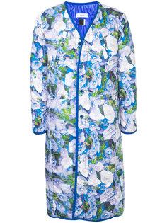 пальто с цветочным принтом Facetasm