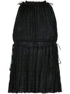 плиссированная блузка M Missoni