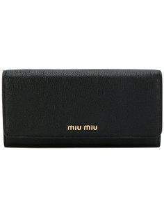длинный кошелек Miu Miu