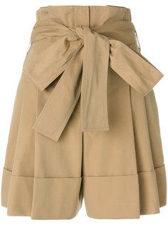 шорты с завышенной талией Alexander McQueen