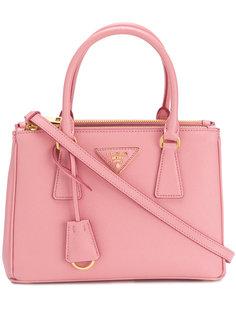 маленькая сумка-тоут Galleria Saffiano Prada