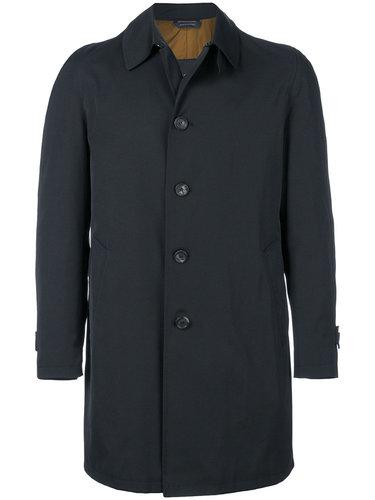 однобортное пальто Dell'oglio