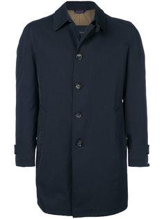 однобортное пальто Delloglio