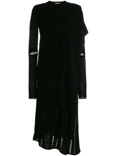 декорированное трикотажное платье-шифт  Nehera