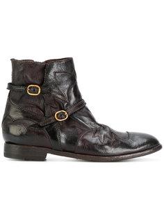 ботинки с пряжками сбоку Ink