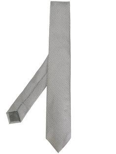 галстук с мелким узором Delloglio