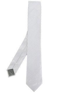 классический галстук с узором в горох Delloglio