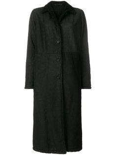 длинное приталенное пальто  Salvatore Santoro