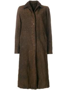 пальто на пуговицах  Salvatore Santoro