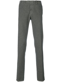 классические брюки кроя слим Delloglio