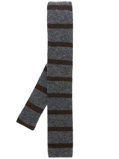 полосатый галстук Delloglio