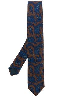 """галстук с принтом """"пейсли"""" Delloglio"""