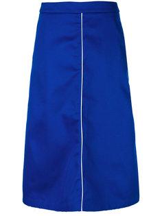 юбка-миди с необработанным подолом Walk Of Shame