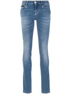 выбеленные джинсы кроя скинни Philipp Plein